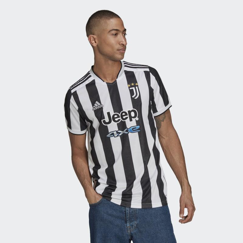 Maglia Home 21 22 Juventus Bianco Gs1442 02 Laydown
